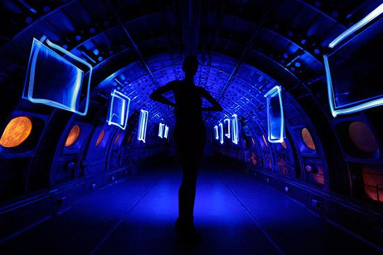 Freezelight для Арт-галереи Самолёт на ВВЦ