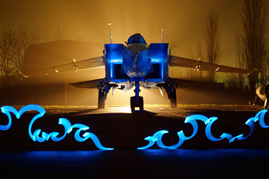 Кадр из совместного проекта с Газпромнефть-Аэро